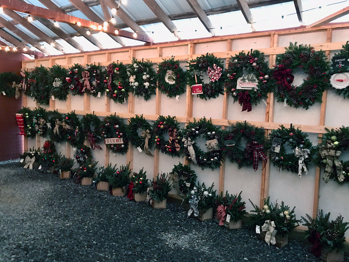 hill farms wreaths and greenery